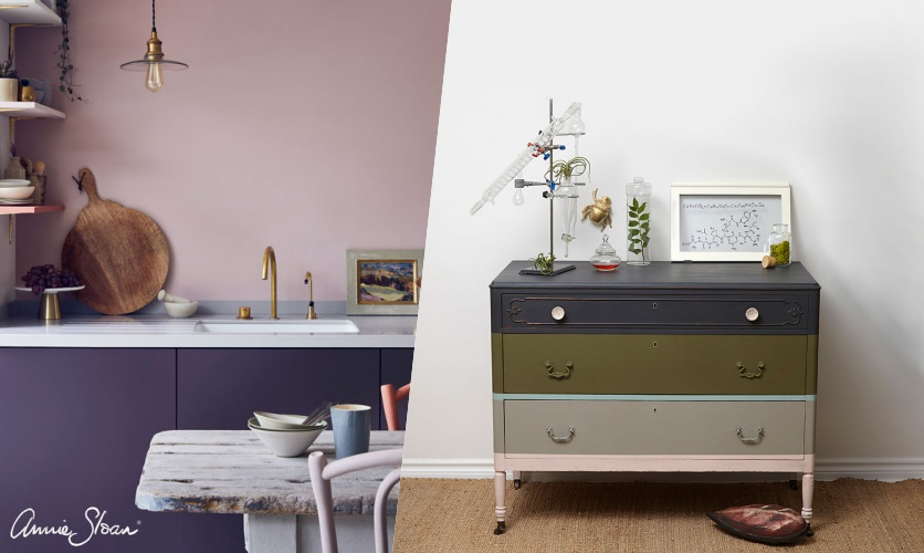 Wandfarben und Möbelfarben Annie Sloan Chalk Paint
