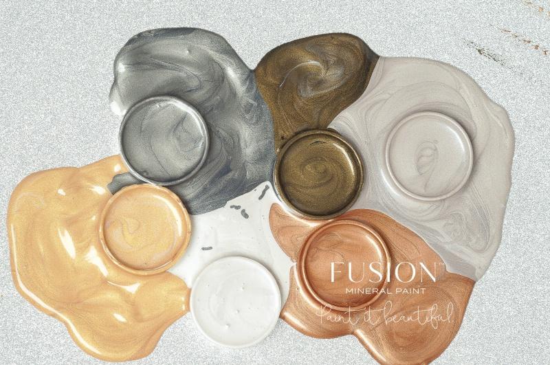 Fusion - Minerallfarbe - Metallic