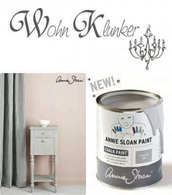 Annie Sloan Chalk Paint, die Kreidefarbe aus England - Chicago Grey