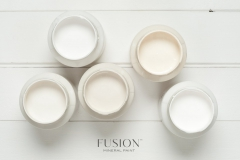 Fusion Mineral Paint - Raw Silk - Cremiger Weißton