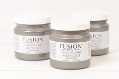 Fusion Mineral Paint - Metallic - Brushed Steel