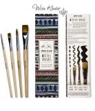 Annie Sloan - Detail Brushes, 4er Set