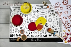 Mix Mat - flexible Arbeitunterlage zum Mischen von mit Annie Sloan Chalk Paint