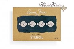Stencil Schablone - Annie Sloan Chalk Paint *Bell Flowers*
