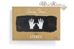 Stencil Schablone - Annie Sloan Chalk Paint *Hands* A4