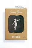 Stencil Schablone - Annie Sloan Chalk Paint *Nymph* A4