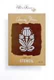 Stencil Schablone - Annie Sloan Chalk Paint *Poppy Pod* A4